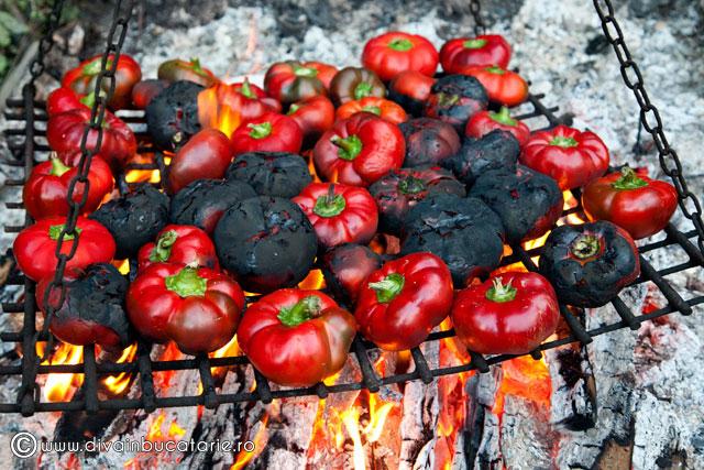 zacusca-de-vinete-cu-ciuperci-3