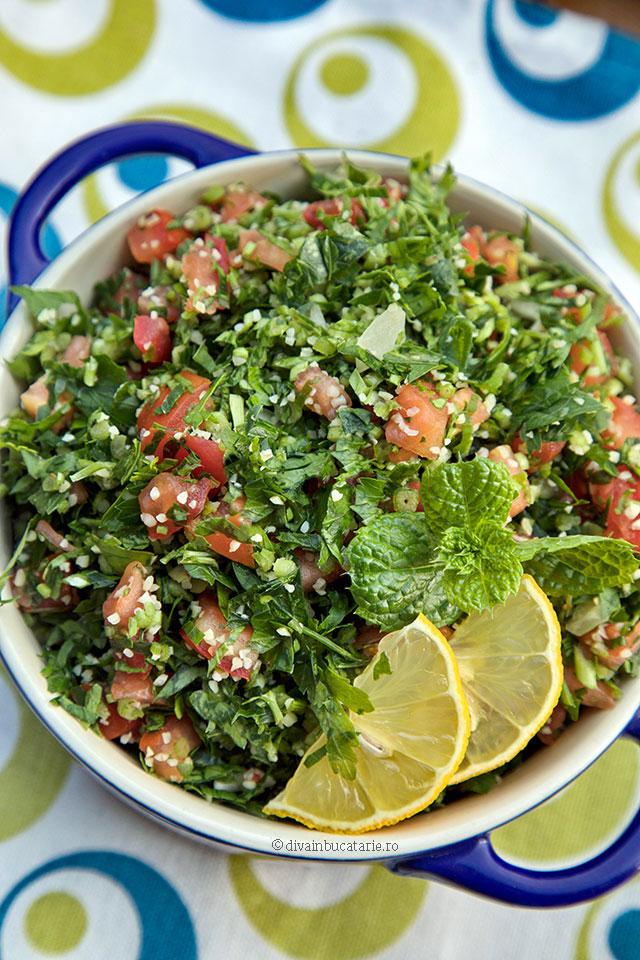 tabouleh salata libaneza de patrunjel a