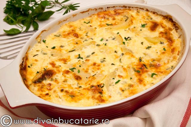 cartofi-gratinati