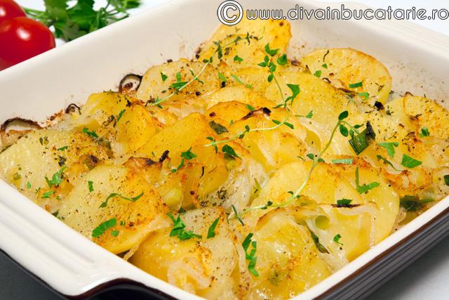Mancare de post cu cartofi