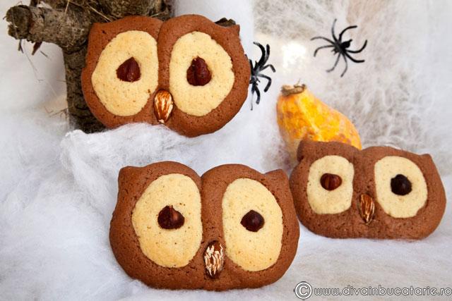 biscuiti-bufnite-pentru-halloween