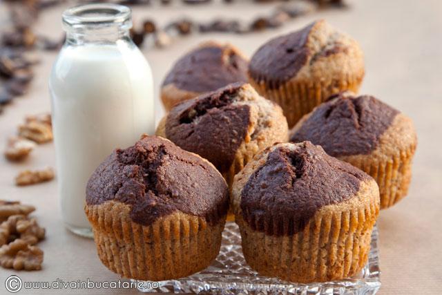 muffins-cu-nuca-si-cacao