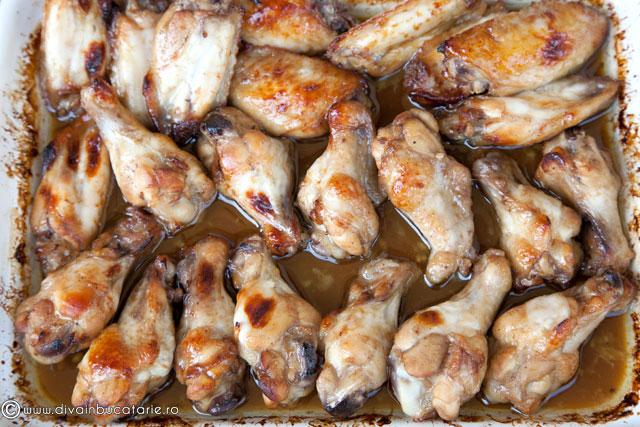 aripi-de-pui-marinate-in-sos-cu-usturoi-si-miere-5