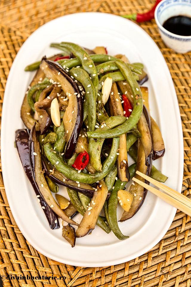 vinete-cu-fasole-verde-in-stil-chinezesc