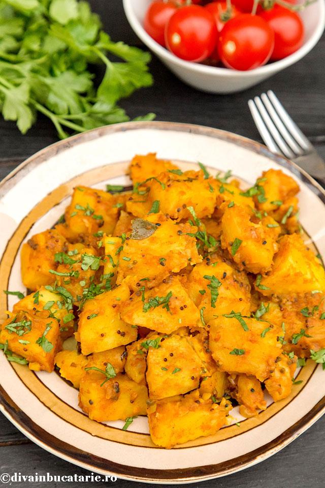 cartofi-bombay-retete-indiene