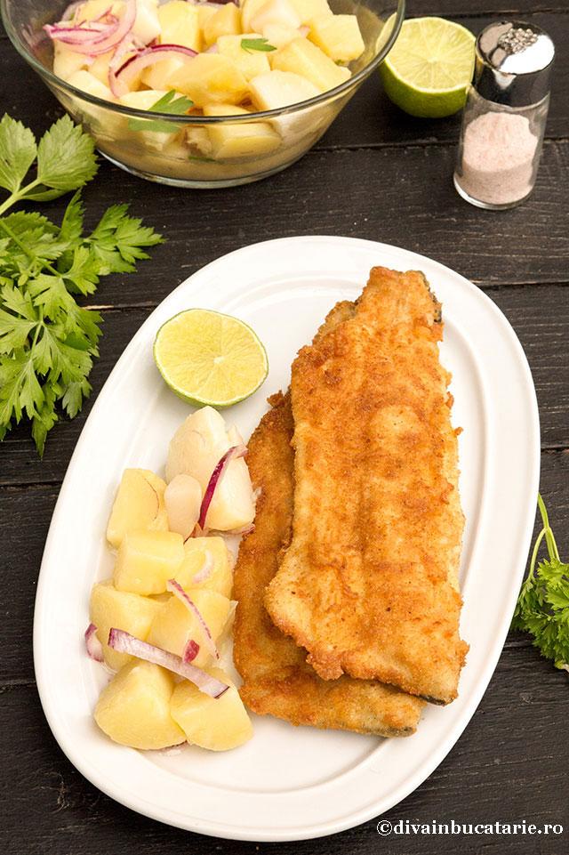 pastrav-pane-cu-salata-de-cartofi