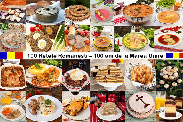 100 Retete Romanesti 100 Ani De La Marea Unire Diva In Bucatarie