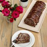 rulada tiramisu din clatiote cu cacao diva in bucatarie