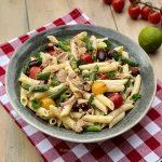 salata de paste cu ton si fasole verde v 1