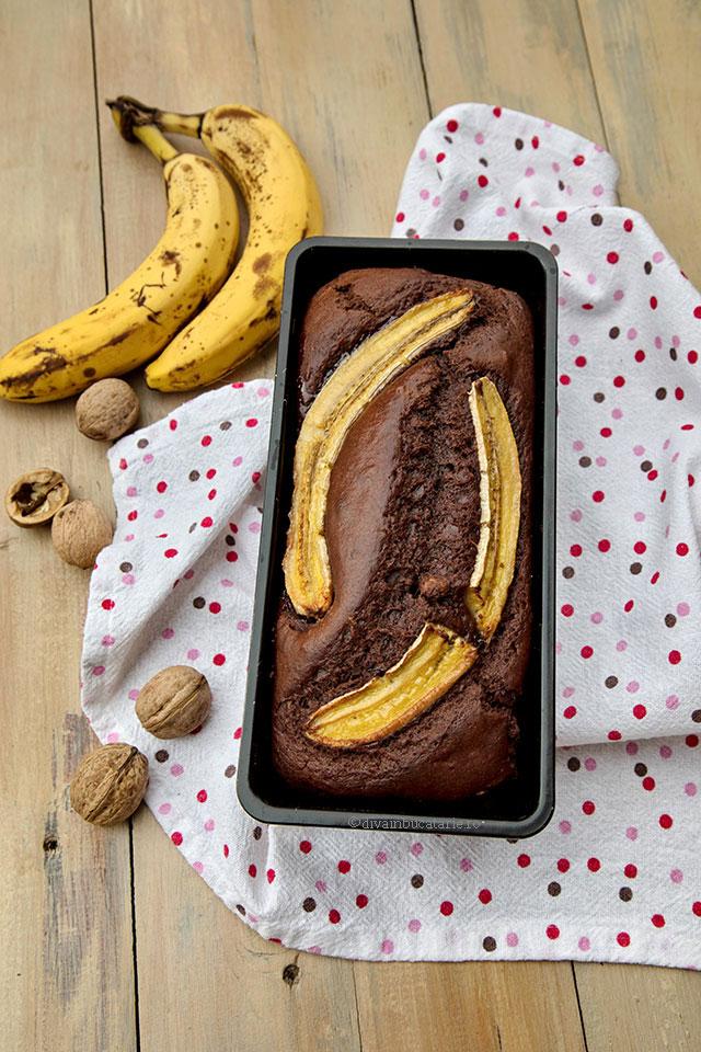 chec de post cu banane si cacao t